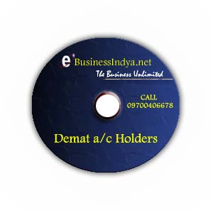 Indian Demat Account Holders Directory CD